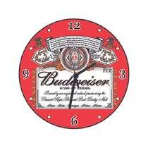 Relógio em MDF - Budweiser