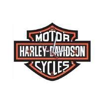 Relógio em MDF - Harley Davidson Logo