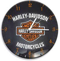 Relógio em MDF - Harley Davidson - 28 cm de diâmetro