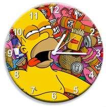 Relógio em MDF - Hommer - 28 cm de diâmetro