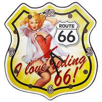 Relógio em MDF - I love riding 66