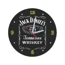 Relógio em MDF - Jack Daniel´s Tennessee Whiskey