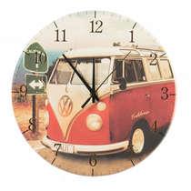 Relógio em MDF - Kombi - 28 cm de diâmetro