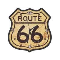 Relógio em MDF - Route 66