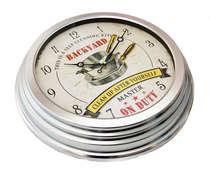 Relógio em Metal -Backyard - 40cm