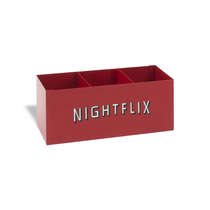 Porta Controles e Objetos de Metal - Nightflix