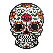 Suporte para panela de cerâmica e cortiça - Mexicana Colorida