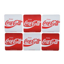 Kit 6 Porta Copos Coca-Cola - Enjoy