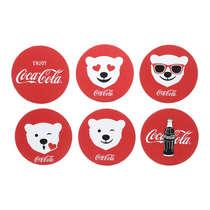 Conjunto de Porta Copos - Coca-Cola Polar Bears - 6 peças