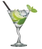 Taça Martini Zig Zag