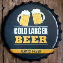 Tampa Metal 40 cm Cold Lager Beer