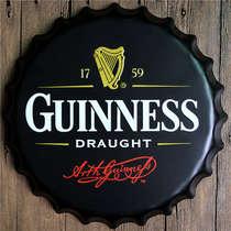 Tampa Metal 40 cm Guinness Draught