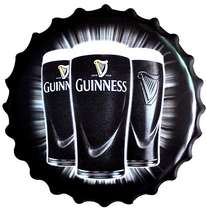 Tampa Metal Guinness (Bottles)  40 cm
