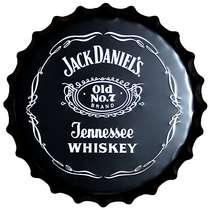 Tampa Metal Jack Daniel´s 40 cm (Black)