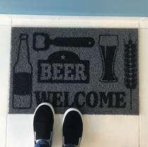 Tapete Beer - 40 x 60 cm