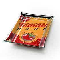 Travessa retangular pequena - Tomato