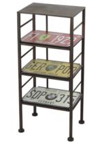 Armário de metal - Placas - 64 x 28 cm