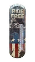 Termômetro De Parede Metal - Freedom  - 43 x 13 cm