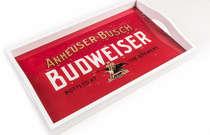 Bandeja em MDF e impressão digital - Budweiser Retrô
