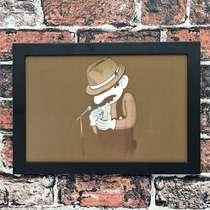Quadro Mario Bros - Linha CDB Designer - 22x33 cm