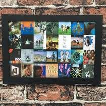 Quadro Pink Floyd - Linha CDB Designer - 22x33 cm