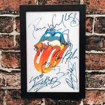 Quadro Rolling Stones Colors - Linha CDB Designer - 33x22 cm