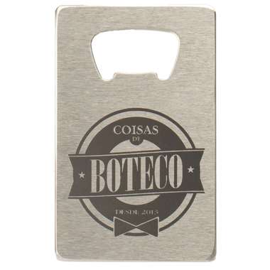 Abridor Cartão -  Coisas de Boteco - R$ 24,90