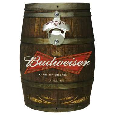 Abridor de Garrafa Barril - Budweiser