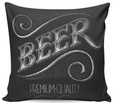 Almofada Beer Premuim Quality - 40x40cm -  Almofada + Capa