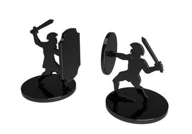 Aparador de Livros - Gladiador  - 15,5x24 cm