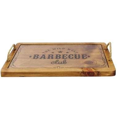 Bandeja de Madeira - Barbecue Club