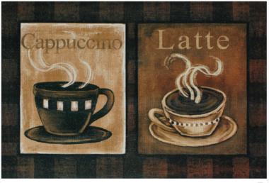 Tapete Cappuccino & Latte - 60 x 90 cm
