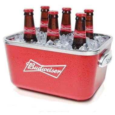 Balde de acrílico -  Oficial Budweiser