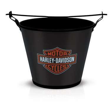 Balde para cerveja Harley Davidson Black