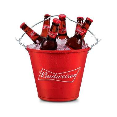 Balde para Cerveja Budweiser