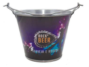 Balde para cerveja - Rock Beer
