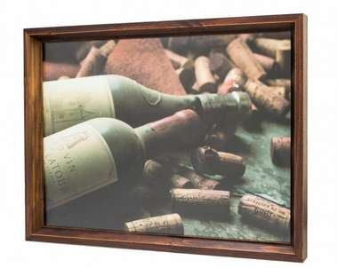 Bandeja Decorativa com impressão digital - Wine 30x40 cm