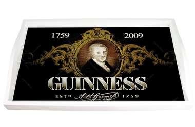 Bandeja em MDF e impressão digital - Guinness