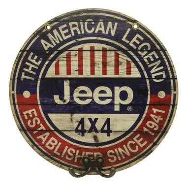 Cabideiro MDF Jeep The American Legend - 28 cm de diâmetro