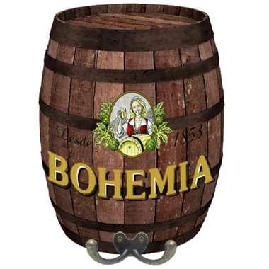 Cabideiro Barril em MDF - Bohemia
