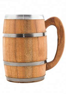 Caneca Artesanal Curva Viking - 1000 ml