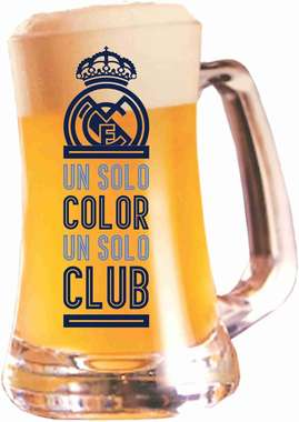 Caneca Cerveja Scandinavia Real Madrid 355 ml - Club
