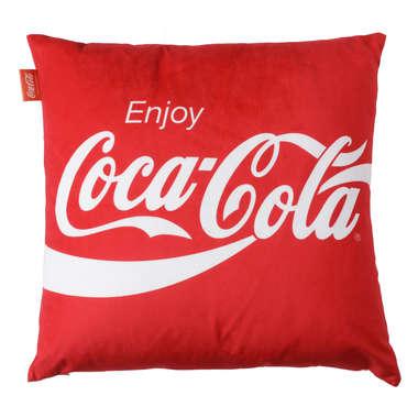 Capa de Almofada Coca-Cola Enjoy - 45x45cm