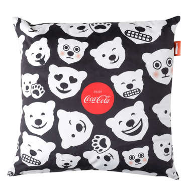 Capa de Almofada Coca-Cola Polar Bears - 45x45cm