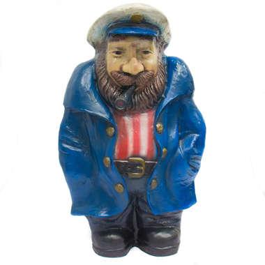 Capitão de Fibra - Capa de chuva azul