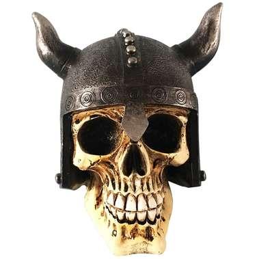 Caveira de Resina - Viking