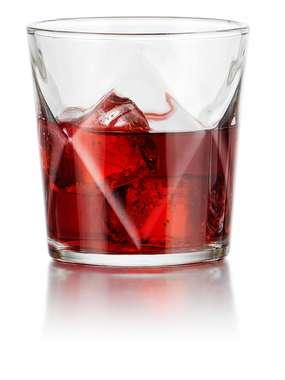 Conjunto 06 copos Whisky Arlequin - 376 ml - México