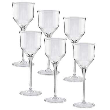 Conjunto 6 taças cristal para vinho tinto 280 ml - Linha Profissional