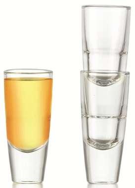 Conjunto com 06 copos para Tequila Carmelot - 60 ml (México)