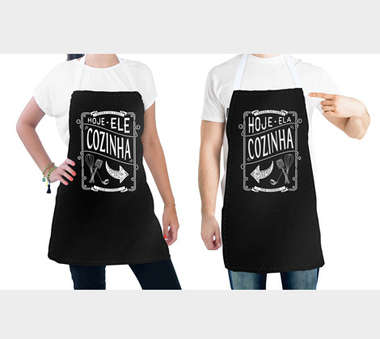 Conjunto de 2 aventais - Quem Cozinha